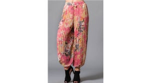 Image of Floral Pleat Pant