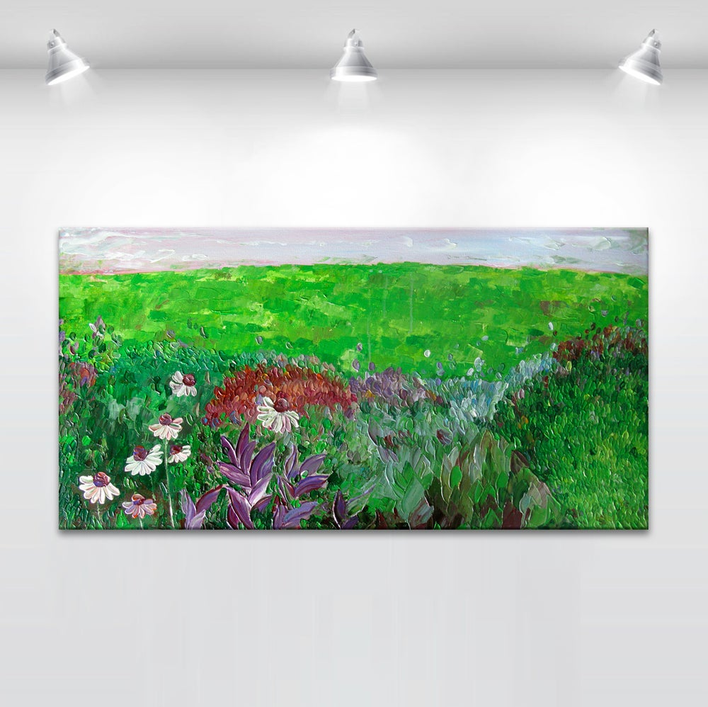 Image of Spring in the garden - 45x90cm