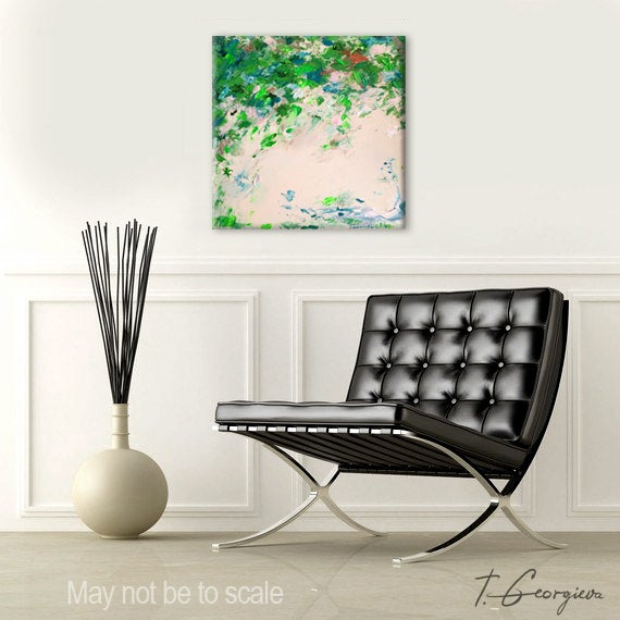 Image of Abstract #45 - 40x40cm