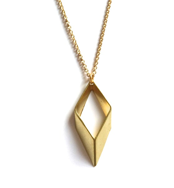 Image of Kool Jewels 3D Geometric Necklace