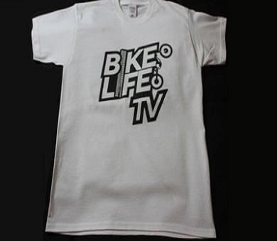 Image of BikeLifeTV Original Logo T-Shirt white