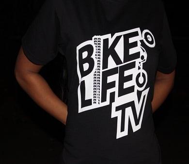 Image of BikeLifeTV Original Logo T-shirt balck