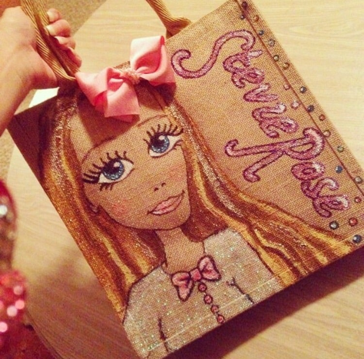 Image of Personalised Kids Character Bags