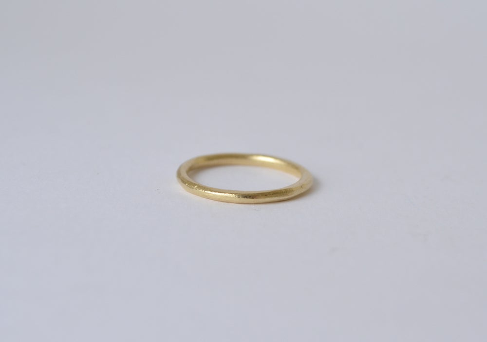 Image of Plain Gold Ring