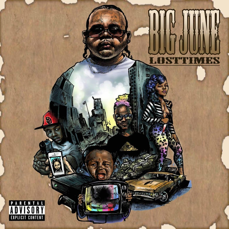 Image of BIG JUNE LOST TIME CD