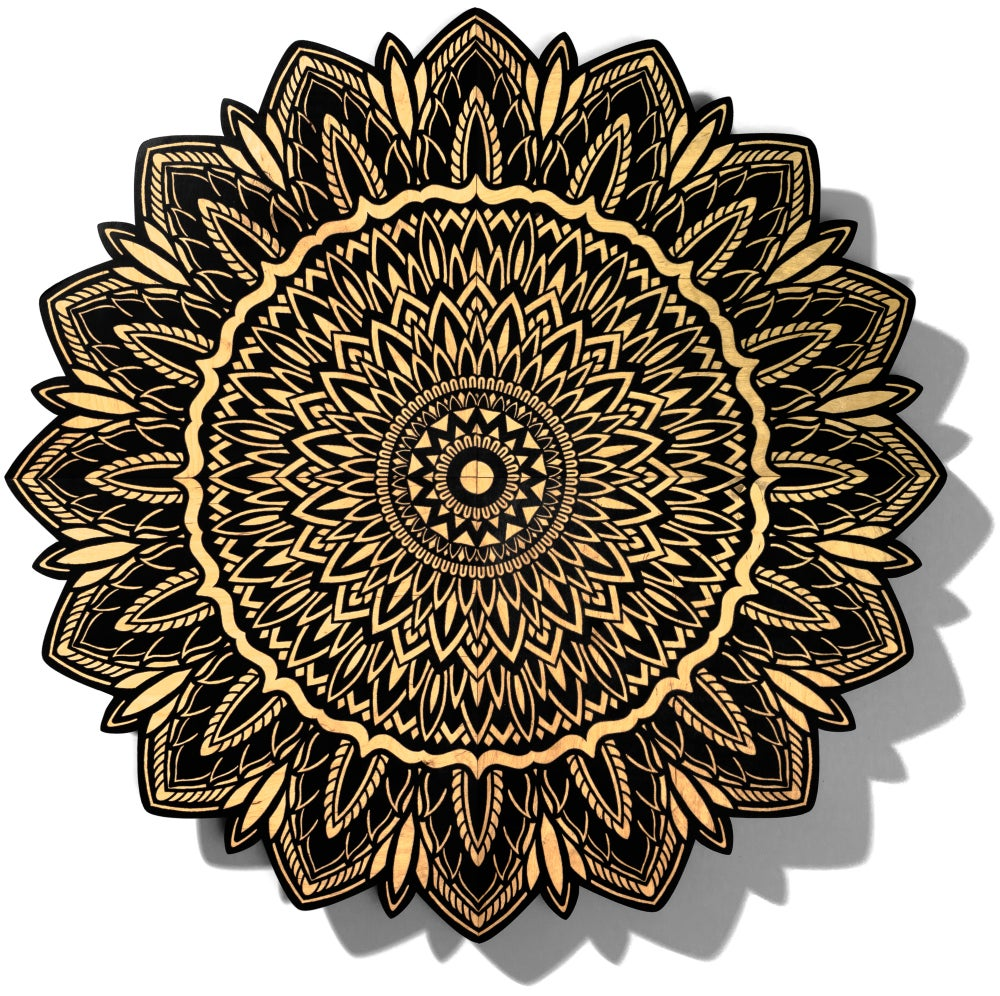 Image of Limited Edition 4 foot mandala by Tom Gilmour
