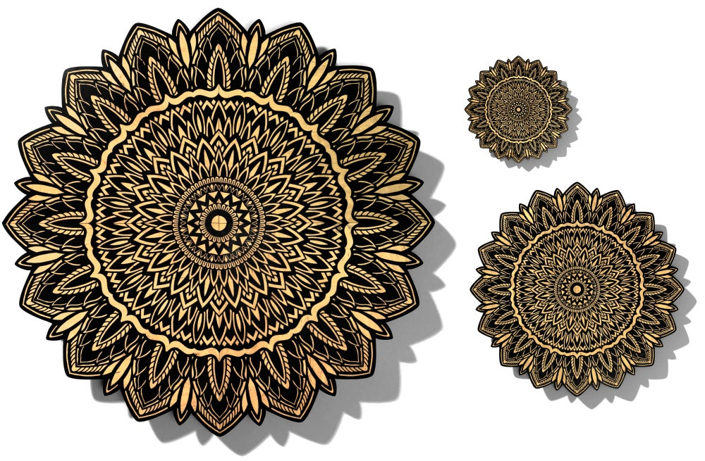 Image of 1 foot mandala by Tom Gilmour