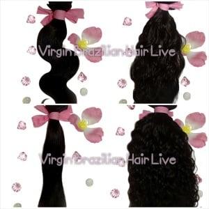 Image of Virgin Hair Bundle Deals - Buy 2 Bundles Get 1 Free Closure