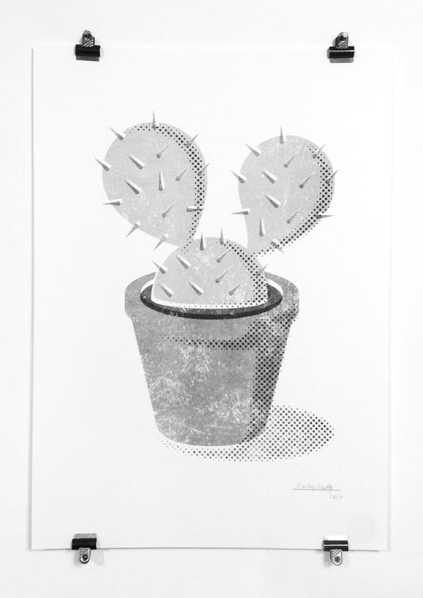 Image of A3 Cactus Print