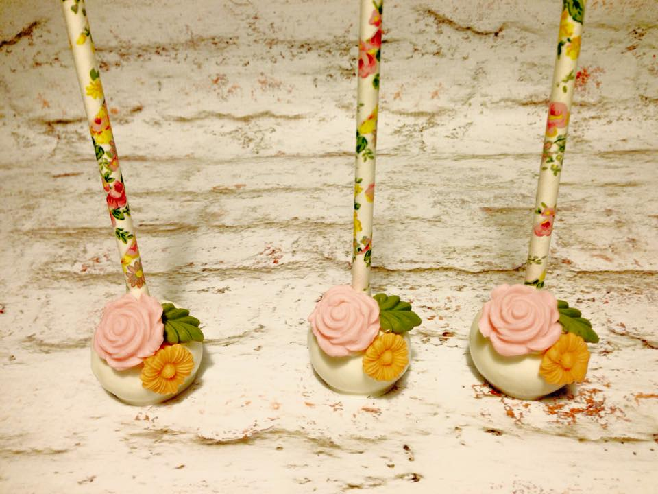Image of Cake pop floral