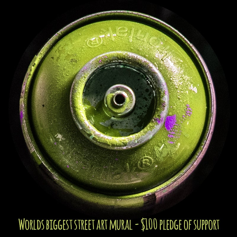 Image of $100 Pledge of Support - Wall Mural