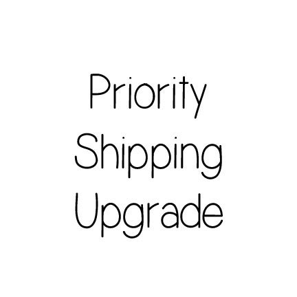 Image of Priority Shipping UPGRADE