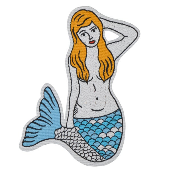 Image of Mermaid Iron-on Patch