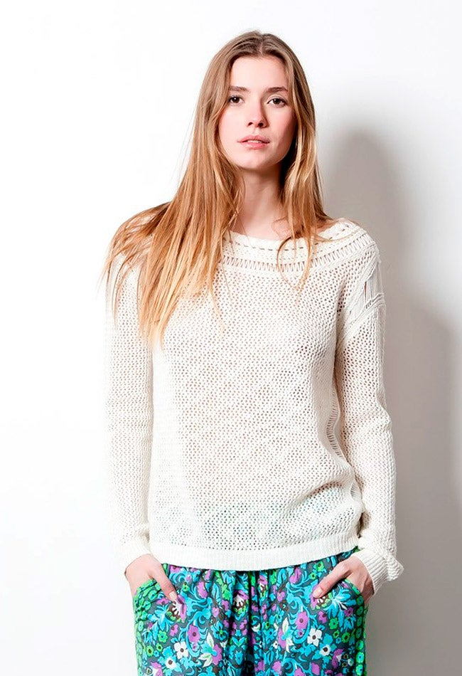 Image of MIRADA WHITE SWEATER