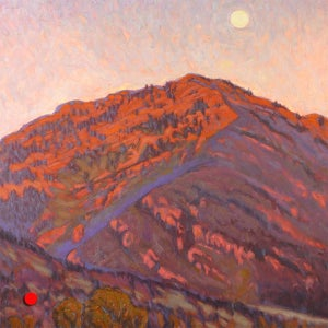 Image of Mountain and Moon (Sold)