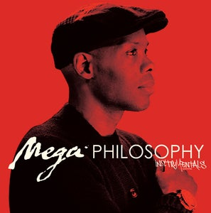 "Image of Cormega ""Mega Philosophy"" Instrumentals LP (black vinyl - limited)"
