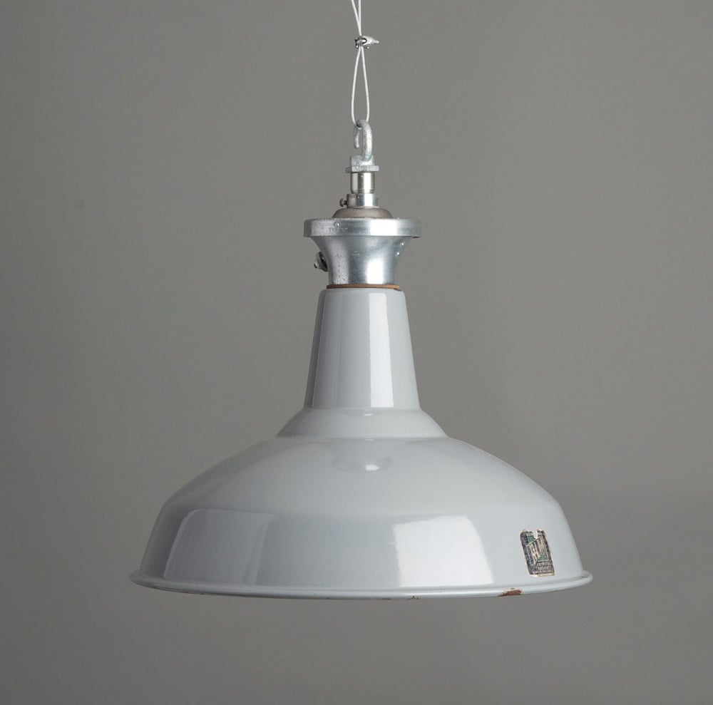 Image of Grey Benjamin Industrial Pendant