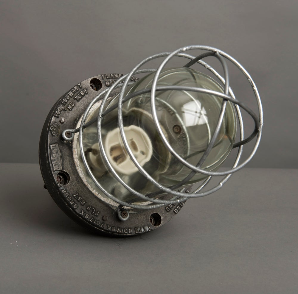"Image of English Factory Light By ""Walsall"""