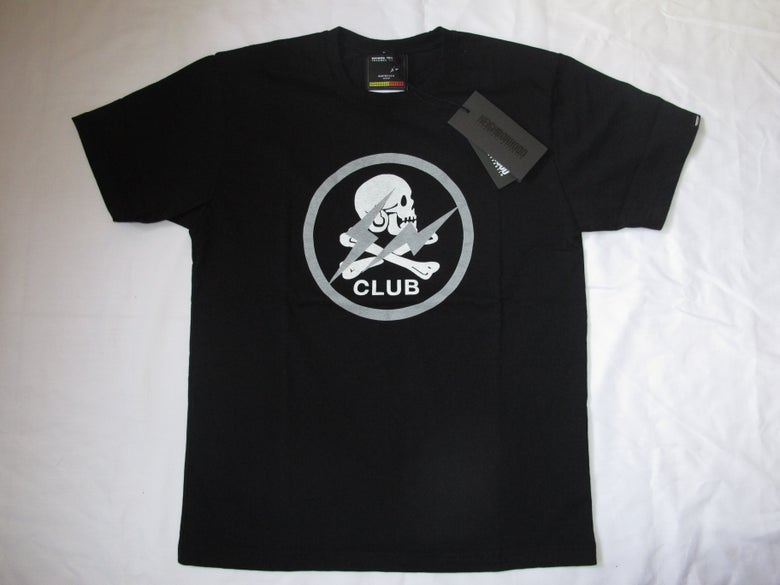 Image of FRAGMENT x NEIGHBORHOOD - Club SKULL (Black)