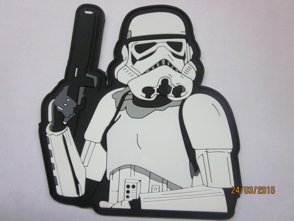 Image of Stormin In Style Stormtrooper  PVC w/Velcro backing -IN STOCK