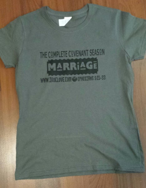"Image of ""Marriage"" ...the first institution #TShirt"