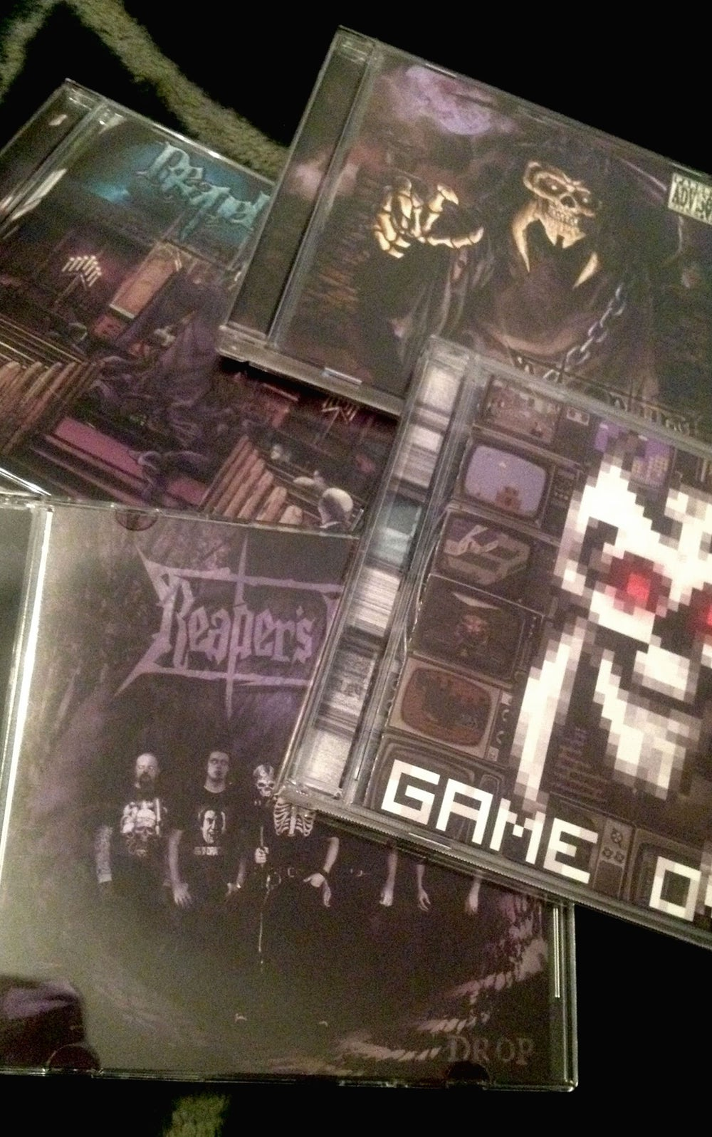 Image of 'The Big 4' Reaper CD Bundle