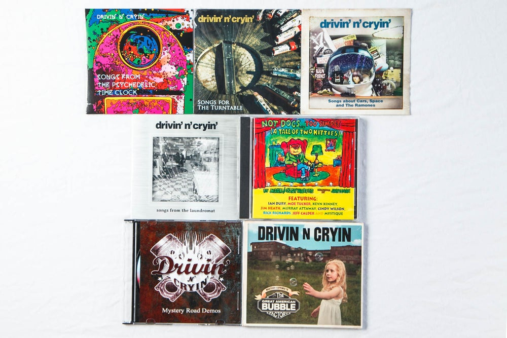 Image of Drivin' n Cryin' CDs & T-Shirt