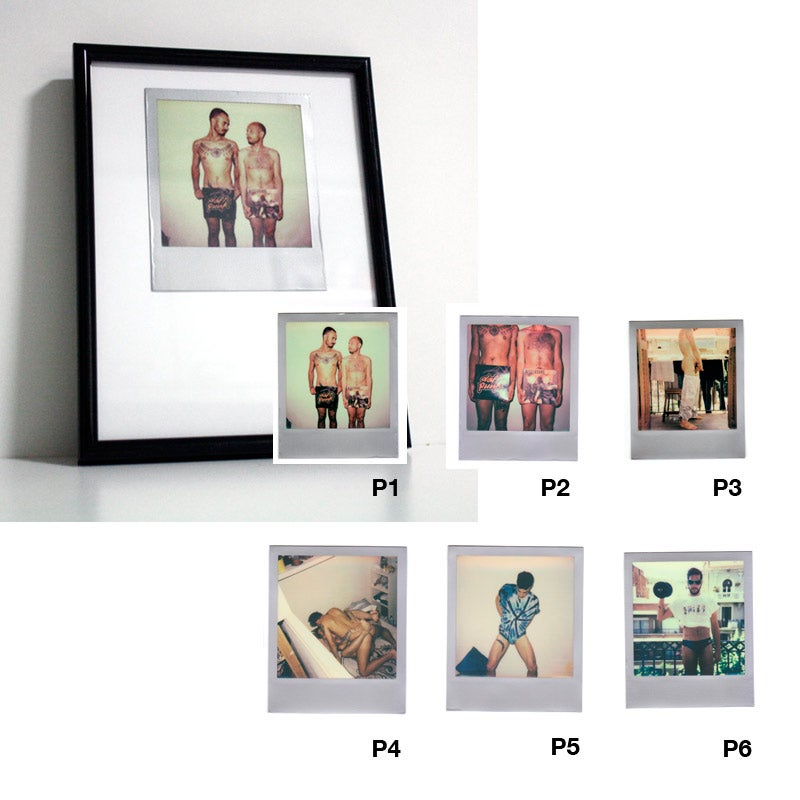 Image of FRAMED POLAROID (VARIOUS OPTIONS)