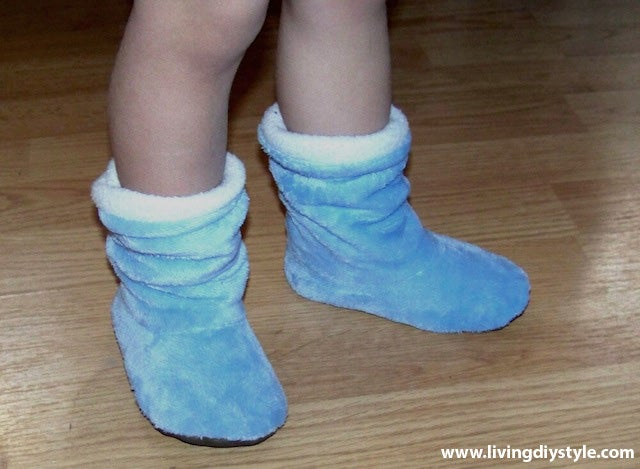 Image of Kid's Slouchy Boots Sewing Pattern