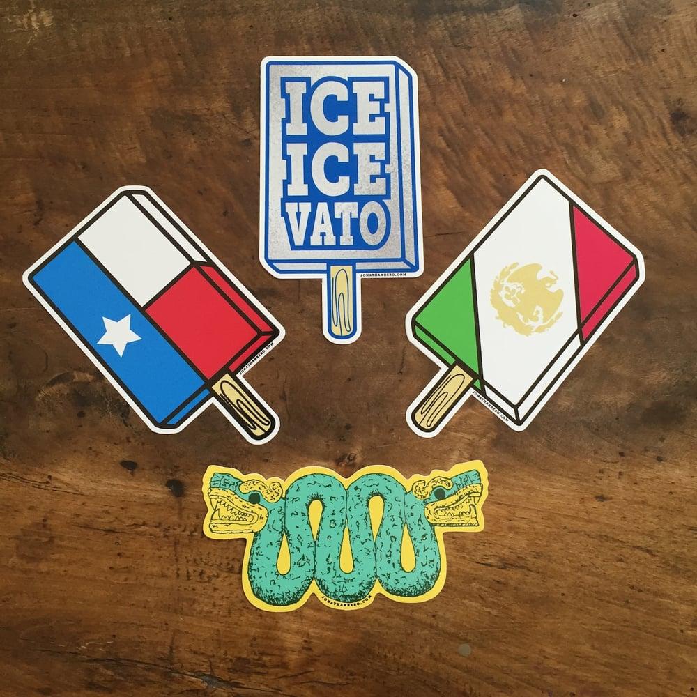 Image of Paletas & Snake Stickers