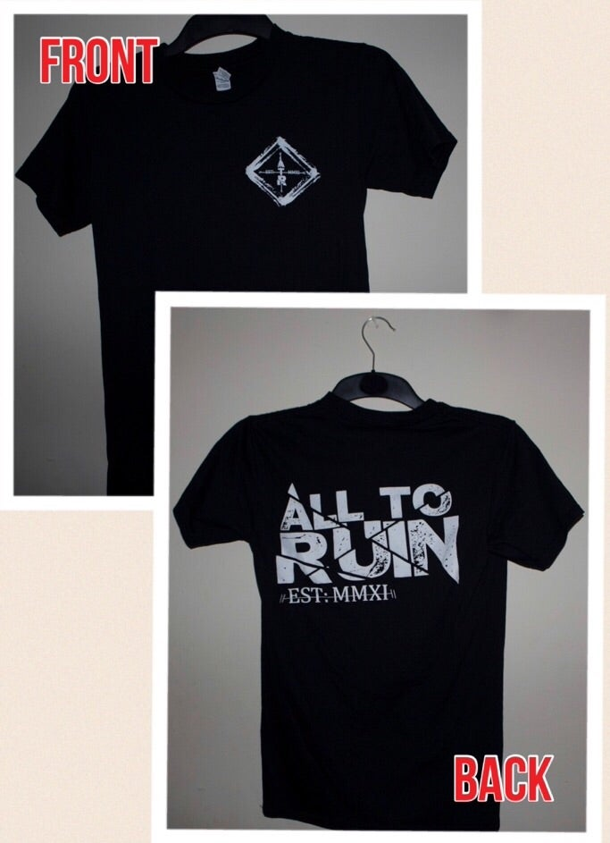 Image of Front and back T