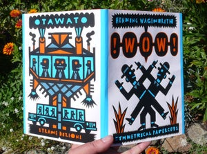 Image of !WOW! Simmetrical Papercuts by Henning Wagenbreth