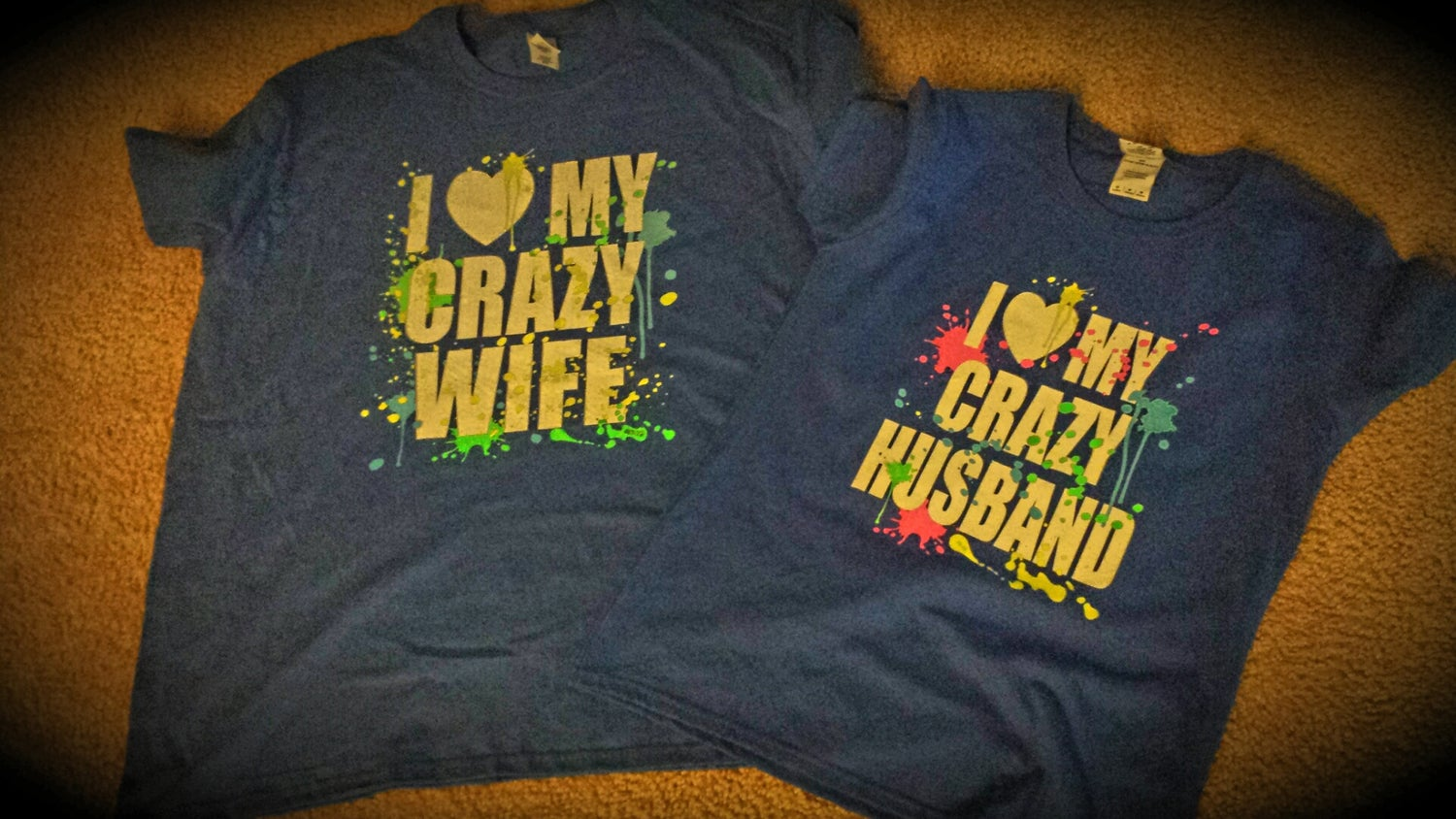 Image of I Love My Crazy Husband / Crazy Wife Combo