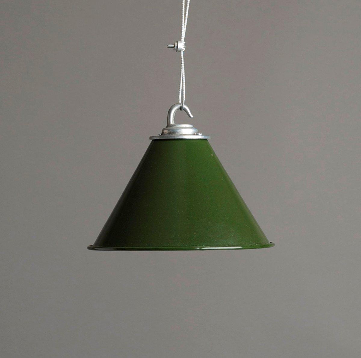 Green Ex Mod Spun Aluminium Shade H 252 Tte