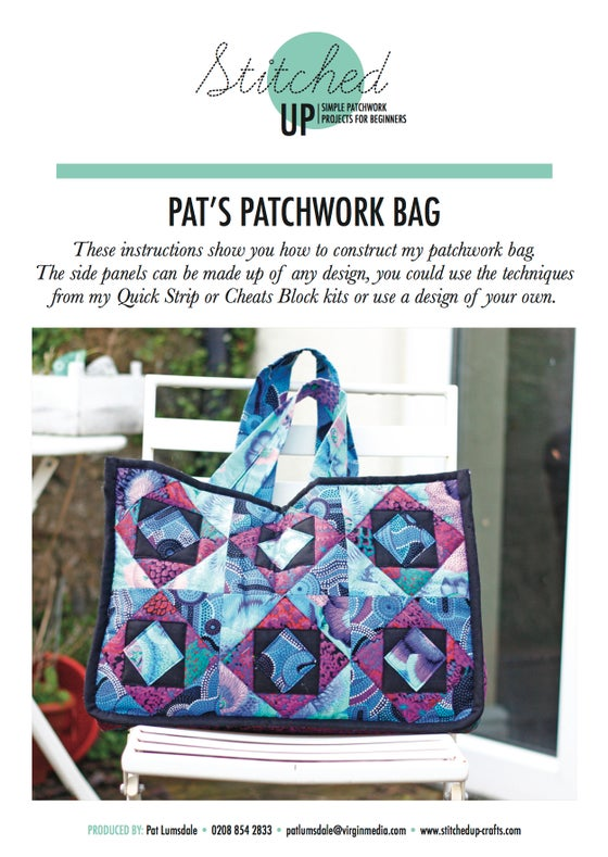 Image of PAT'S PATCHWORK BAG