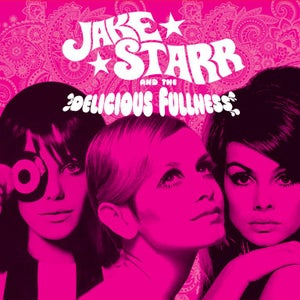 Image of Jake Starr and The Delicious Fullness - Faces 7'' (lilac or black vinyl)
