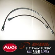 Image of SRM - Audi 2.7TT Turbo Oil Feed Line Kit