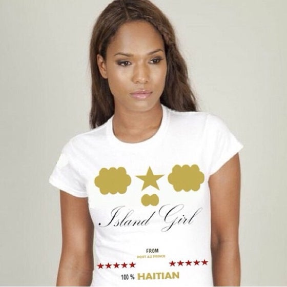 Image of ISLAND GIRL 100% HAITIAN T-SHIRT