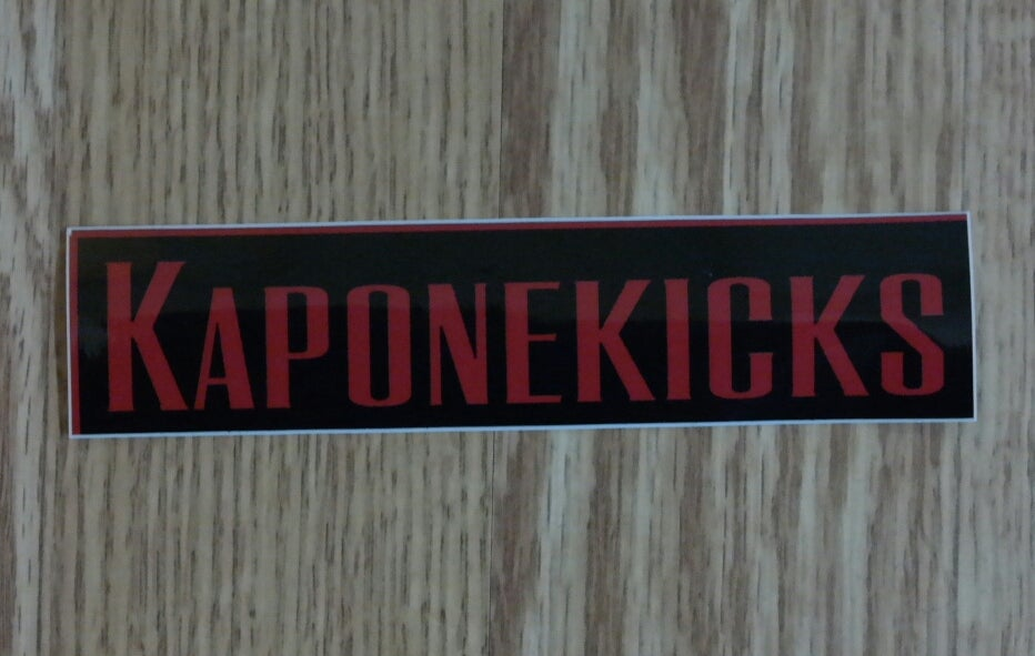 Image of Kaponekicks Stickers
