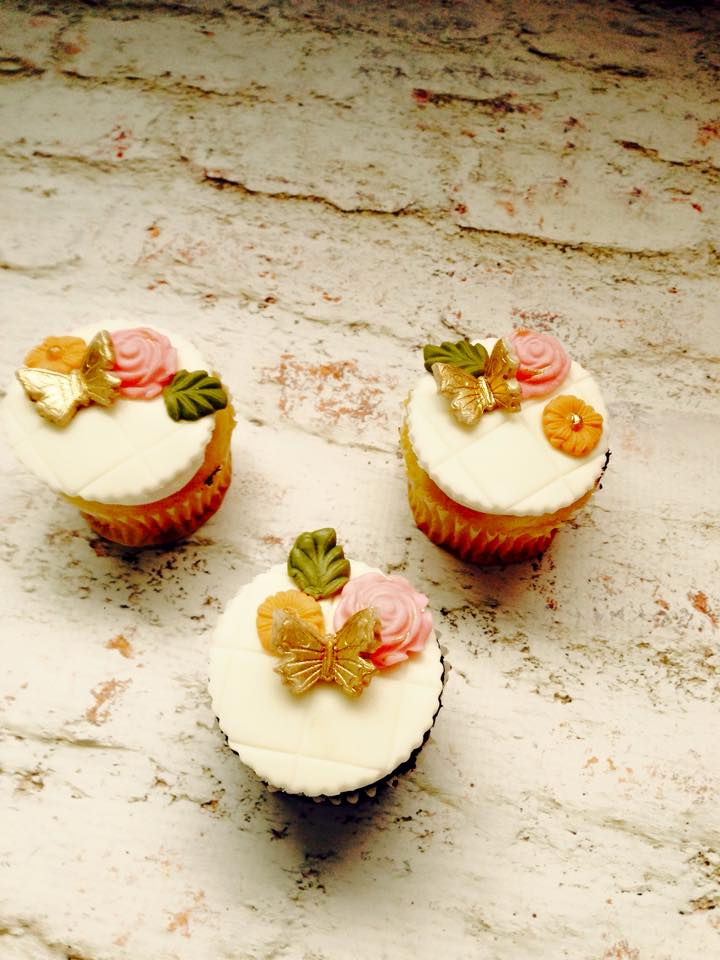 Image of custom cupcakes