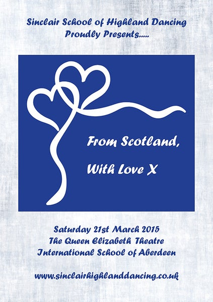 Image of From Scotland, with Love X - Sinclair School of Highland Dancing