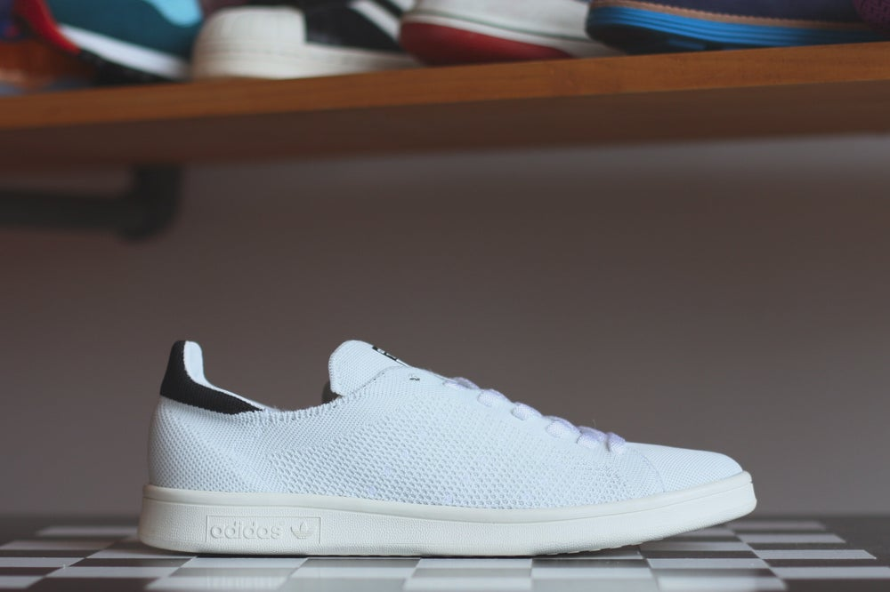 Image of ADIDAS STAN SMITH PRIMEKNIT - BLACK S77529