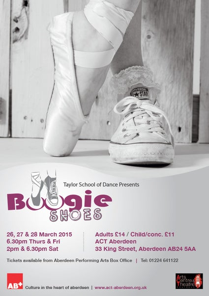 Image of Taylor Dance 2015 - Boogie Shoes