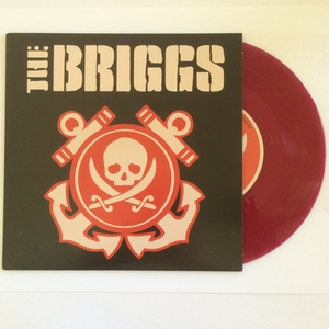 Image of ***NEW*** Briggs Purple Color Vinyl 7""