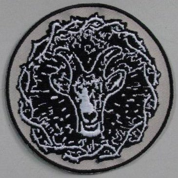 Image of ATWA embroidered iron-on patch
