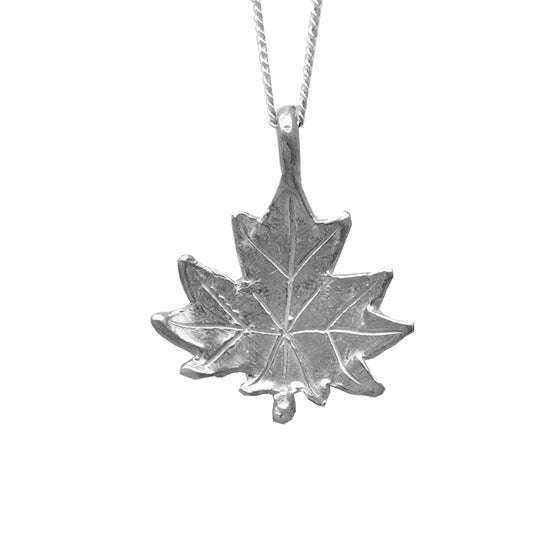 Image of Maple Leaf Necklace 3D