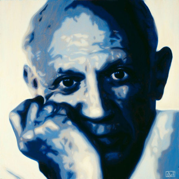 Image of Painting 'Picasso' - SOLD