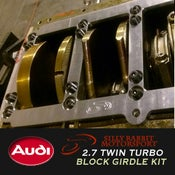 Image of SRM - Audi 2.7TT Billet STEEL Block Girdle Kit