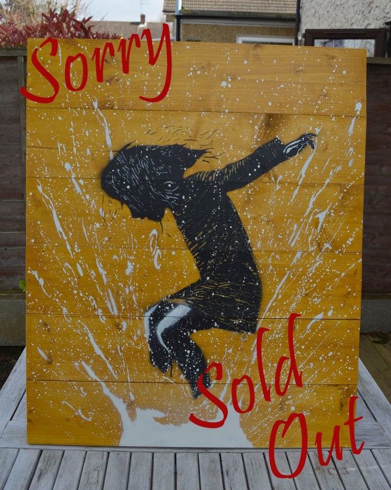 "Image of ""SplashBack"" - Hand Made Wooden Panel"