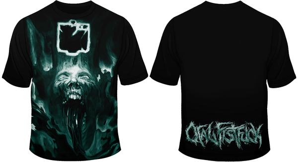 Image of ORAL FISTFUCK - Spiritual Sickening / Transcend T-Shirt